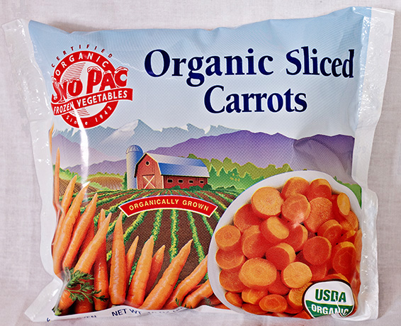 Organic Sliced Carrots