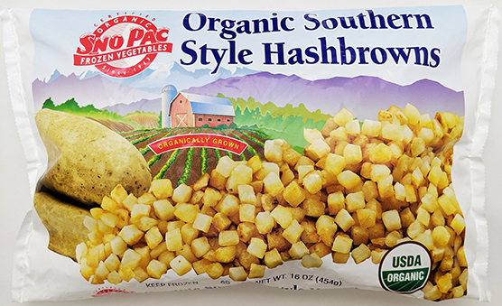 Organic Southern Style Hash Browns