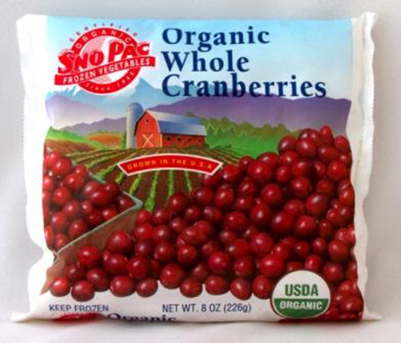 Whole Organic Cranberries