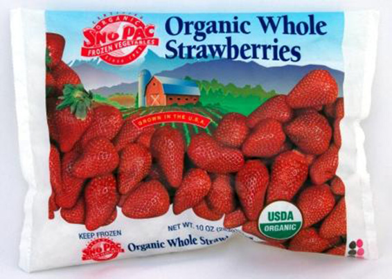 Organic Whole Strawberries